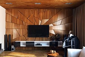 наборные деревянные панели