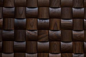 объемная 3д панель из дерева