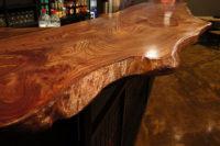 барная столешница из натурального дерева