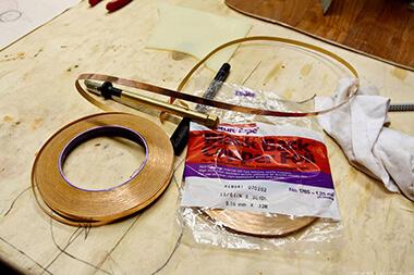 медная фольга для изготовления витражей Тиффани
