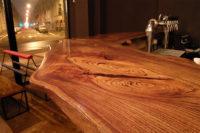 столешница для барной стойки из массива