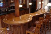 столешница для барной стойки из массива дерева