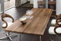 столешница для стола из дерева