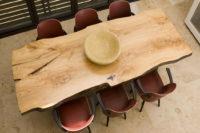 столешница для стола из массива дерева