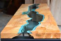 столешница из массива дерева для стола