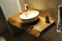 столешница из массива для ванной