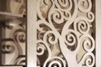 деревянная декоративная перегородка