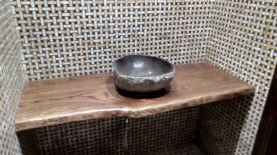 столешница в ванную из слэба
