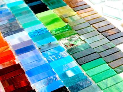 Виды стекла для витражей