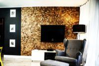 деревянная декоративная панель
