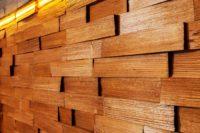 деревянная панель на стену