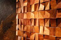 стеновая панель из кубиков