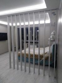 перегородка для спальни из МДФ